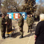 Божия Матерь благословила военнослужащих ЧФ на Фиоленте своим образом Тихвинской Ополченной иконы